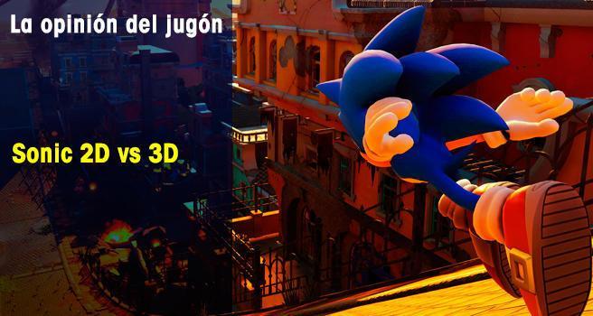 Sonic 2D vs 3D