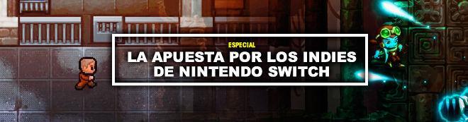 La apuesta por los indies de Nintendo Switch