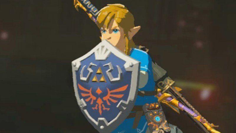 Escudo Hyliano en Zelda: Breath of the Wild