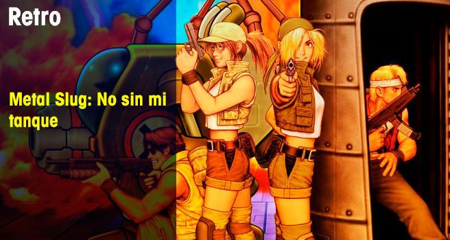 Metal Slug: No sin mi tanque