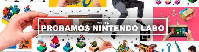 Probamos Nintendo Labo