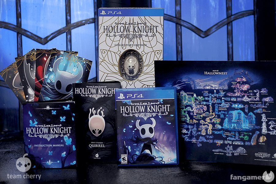 now you can book edits physical Hollow Knight