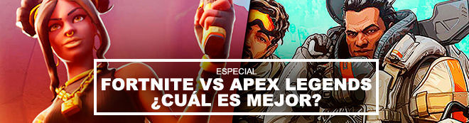 Fortnite vs Apex Legends ¿Cuál es mejor?