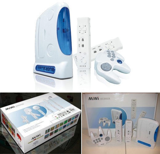 MiWi, clone do Wii