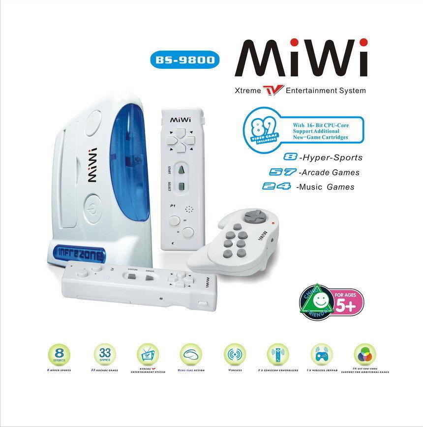 MiWi, klon Wii
