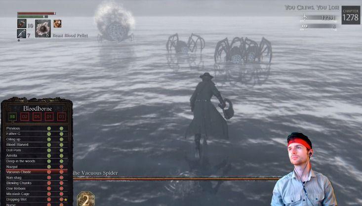 streamer endlich übertrifft alle Souls und Bloodborne, ohne schaden zu nehmen