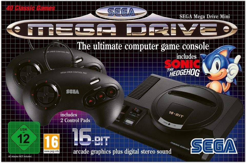 The Mega Drive Mini will arrive on September 19 with 40 games
