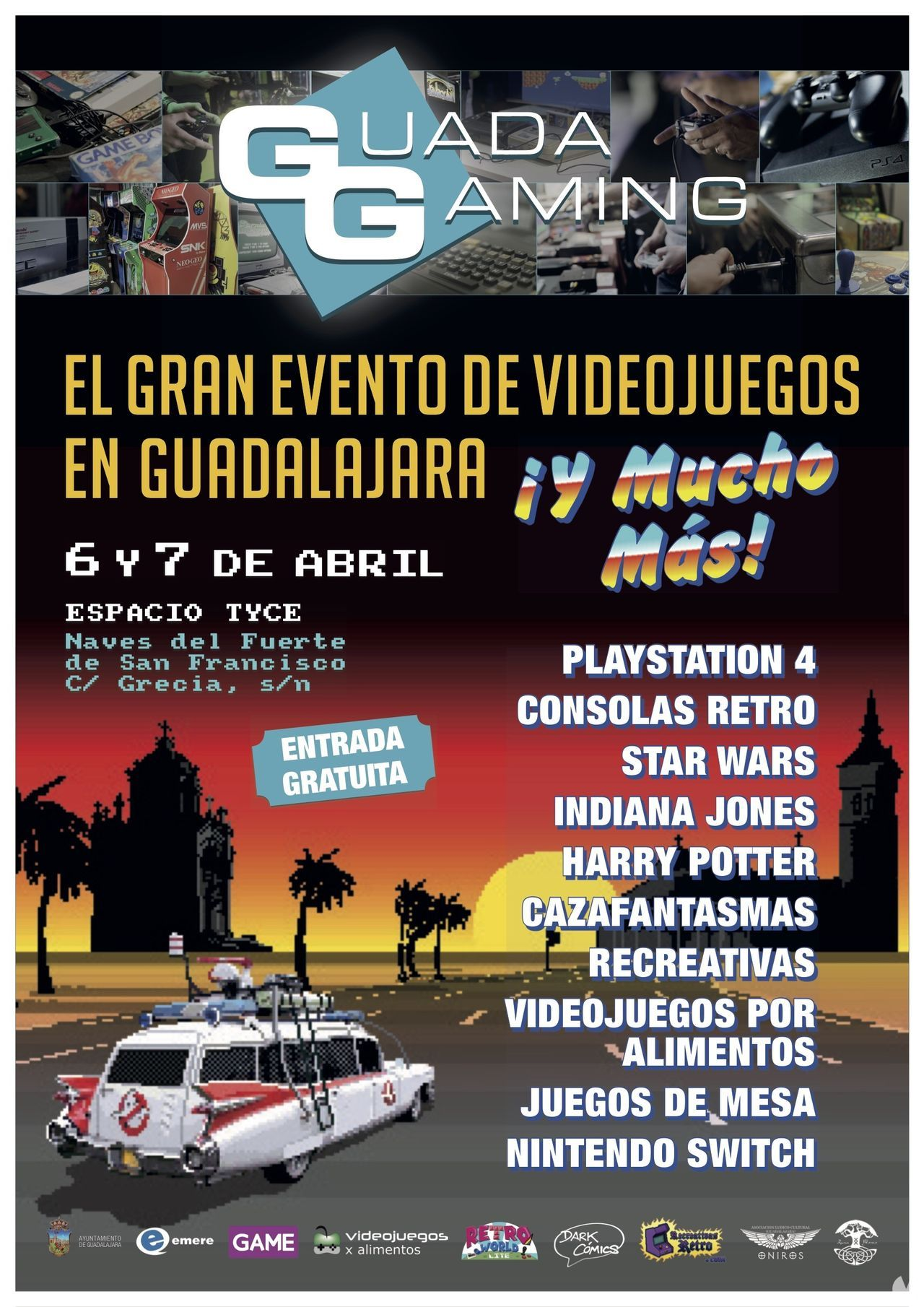 Guada Gaming will be held in Guadalajara on 6 and 7 April