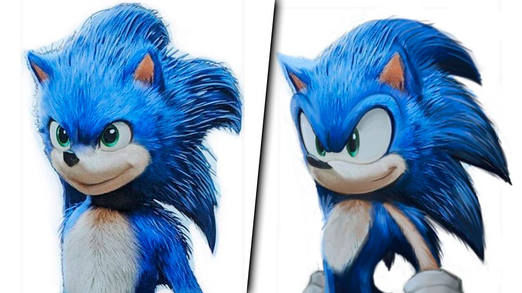 The creator of Sonic shows his discontent with the design of the movie