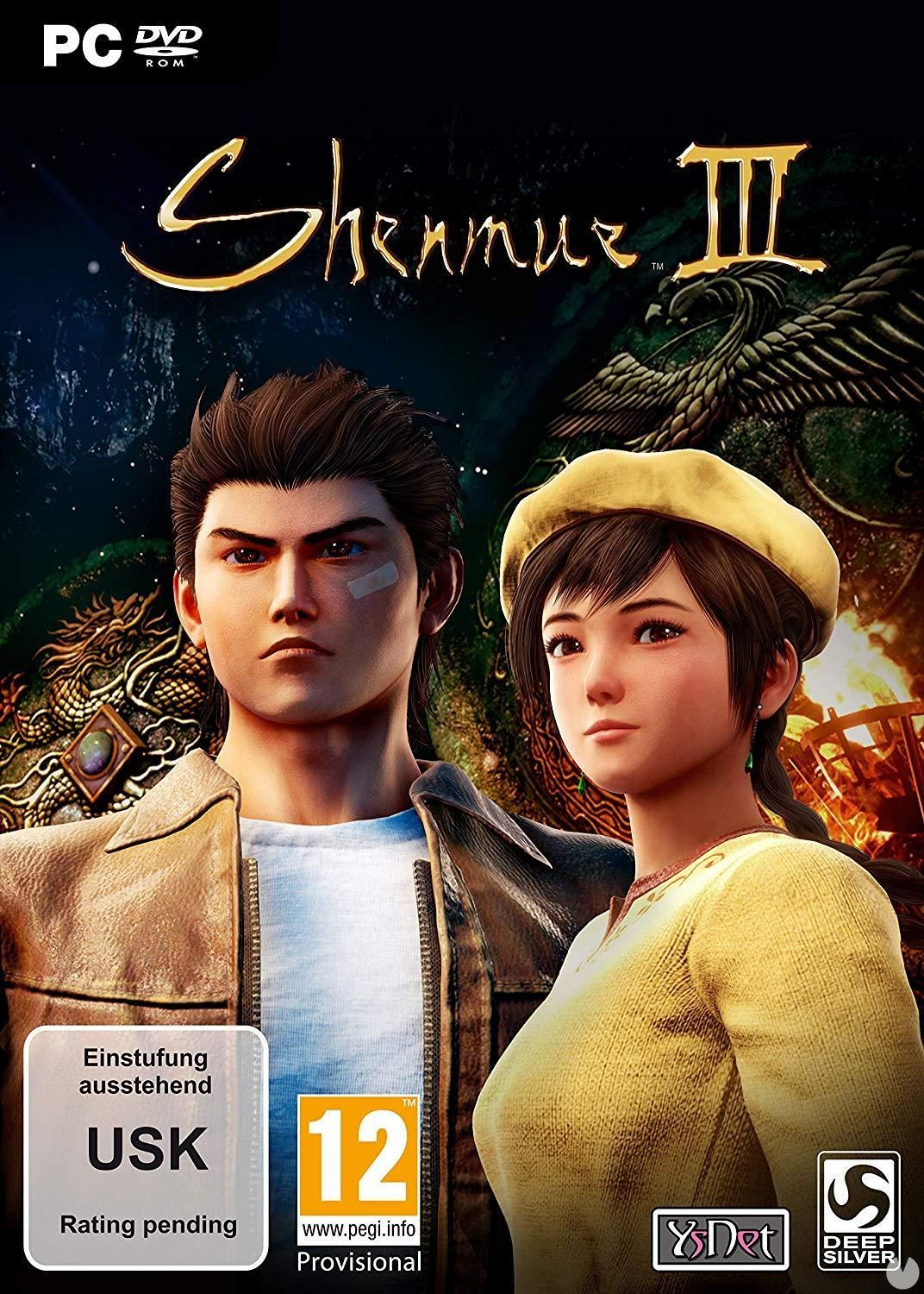 So it will be the cover of Shenmue III
