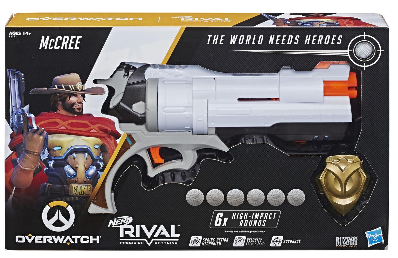 Hasbro presents its range of toys based on Overwatch