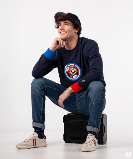 Super Mario anniversary clothing
