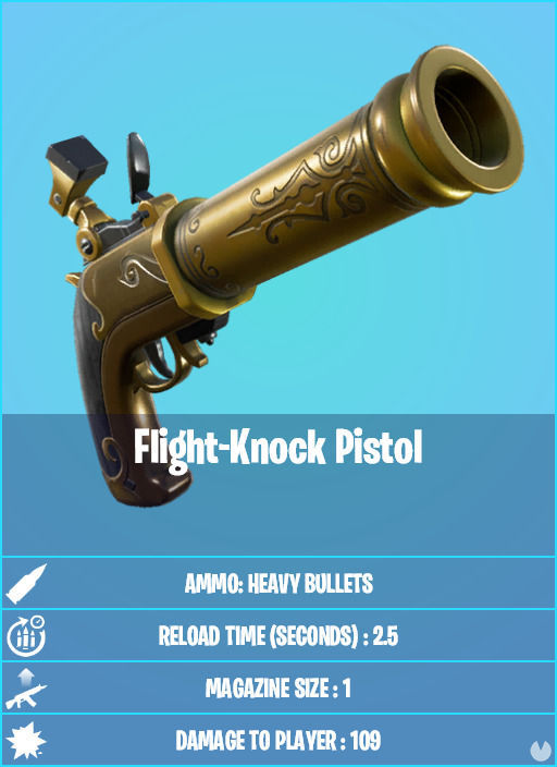 Fortnite v15.50: nueva arma ex
