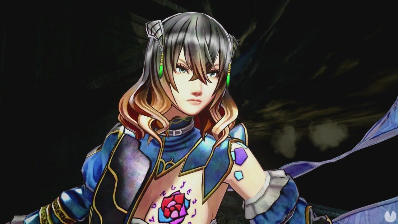 Bloodstained is updated in the Switch, and now it is