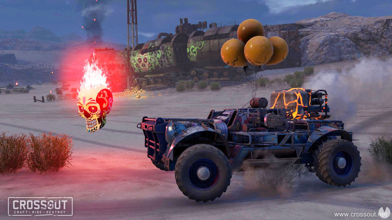 Crossout and Star Conflict are receiving events with topic Halloween