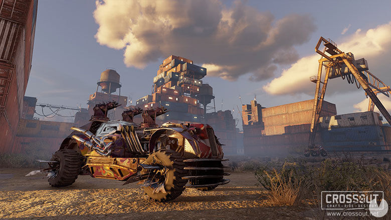 Crossout starts the year with an update of the game engine