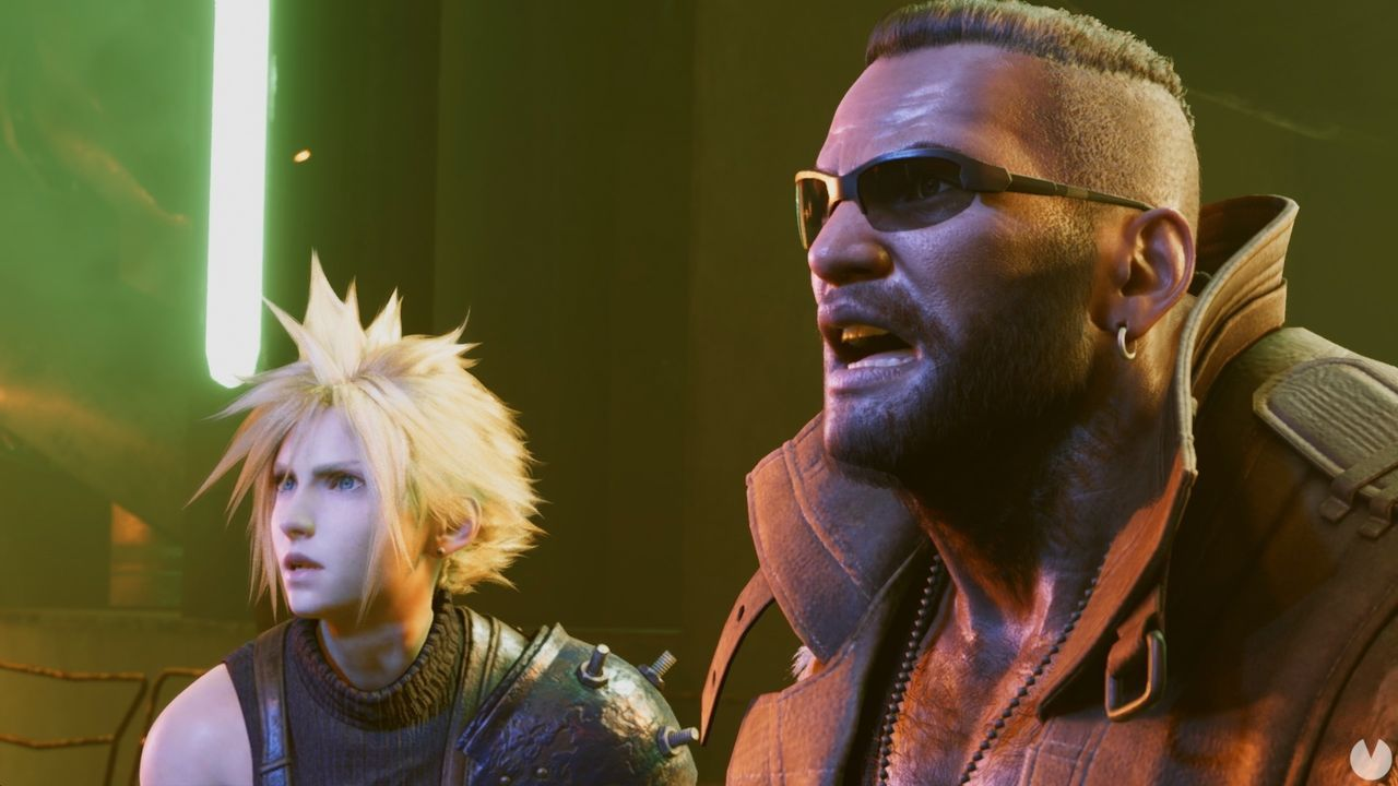 Final Fantasy 7 Remake: filtered the introduction scene of the demo