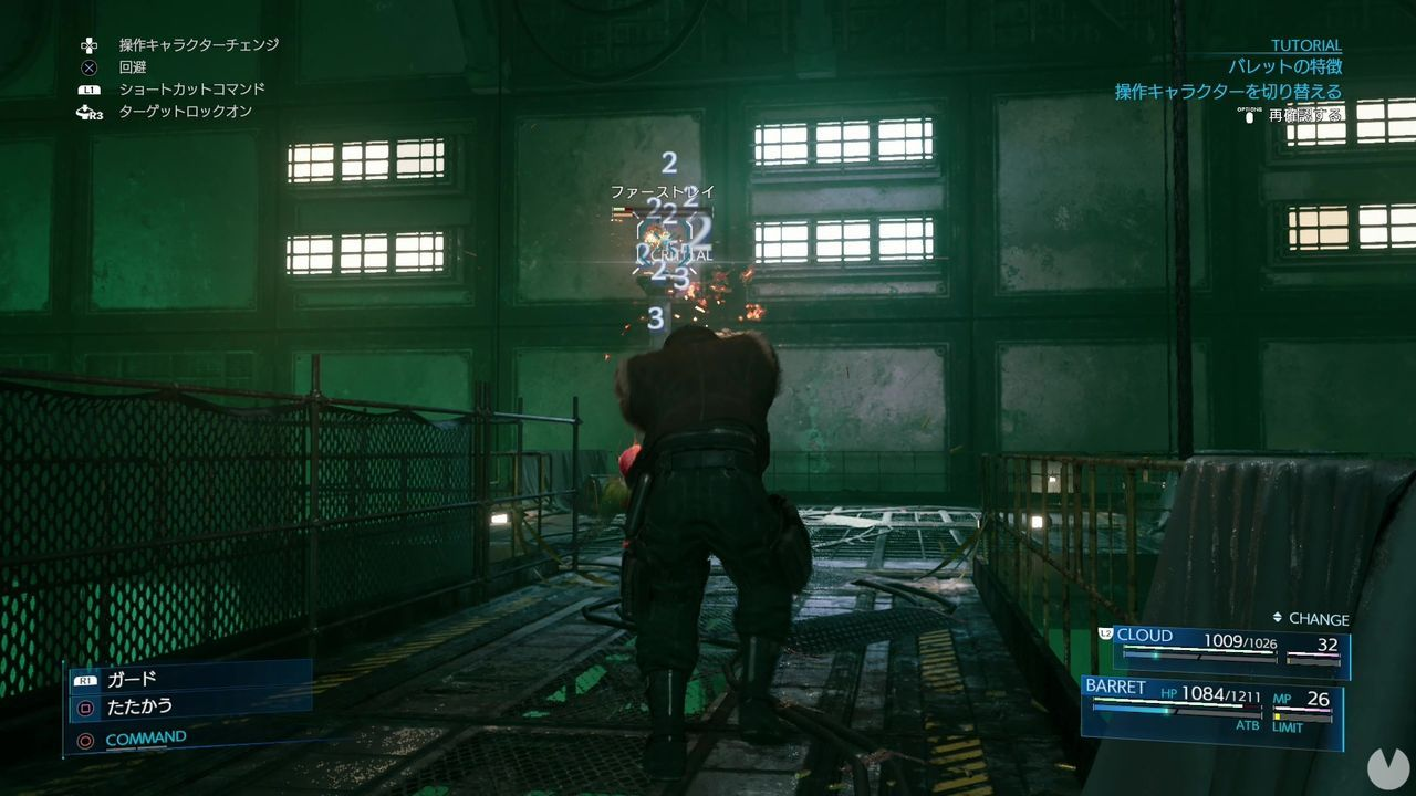 Final Fantasy VII Remake shows its demo at the Tokyo Game Show 2019 in video