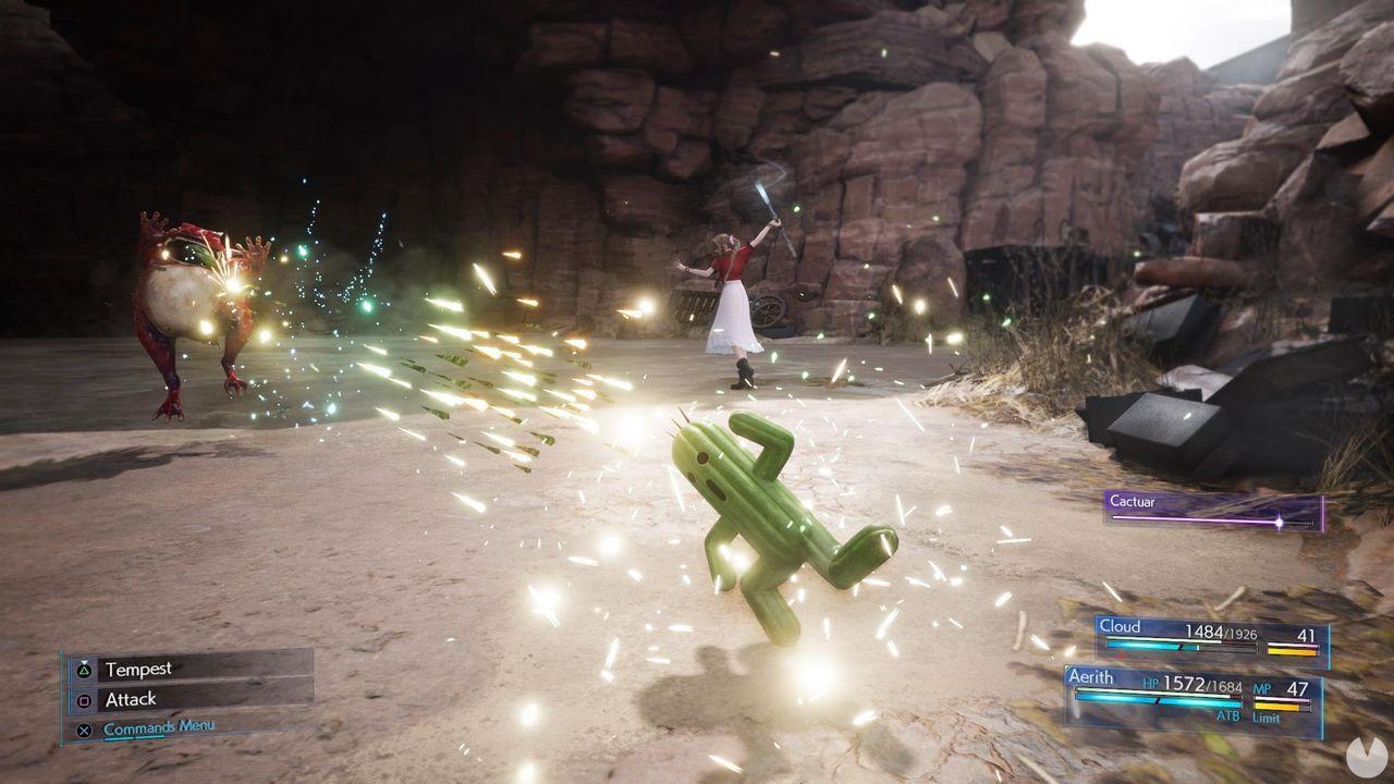 FFVII Remake Intergrade: Rubí, Cactilio y Chocobito serán gratuitos en PS5
