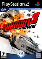 Car�tula oficial de de Burnout 3 Takedown para PS2