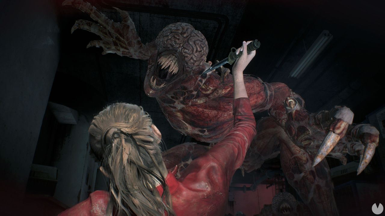 Resident Evil 2 Remake is shown in a new gameplay
