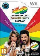 Carátula Los 40 Principales Karaoke Party Vol.2 para Wii