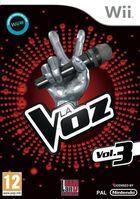 Carátula La Voz Vol. 3 para Wii