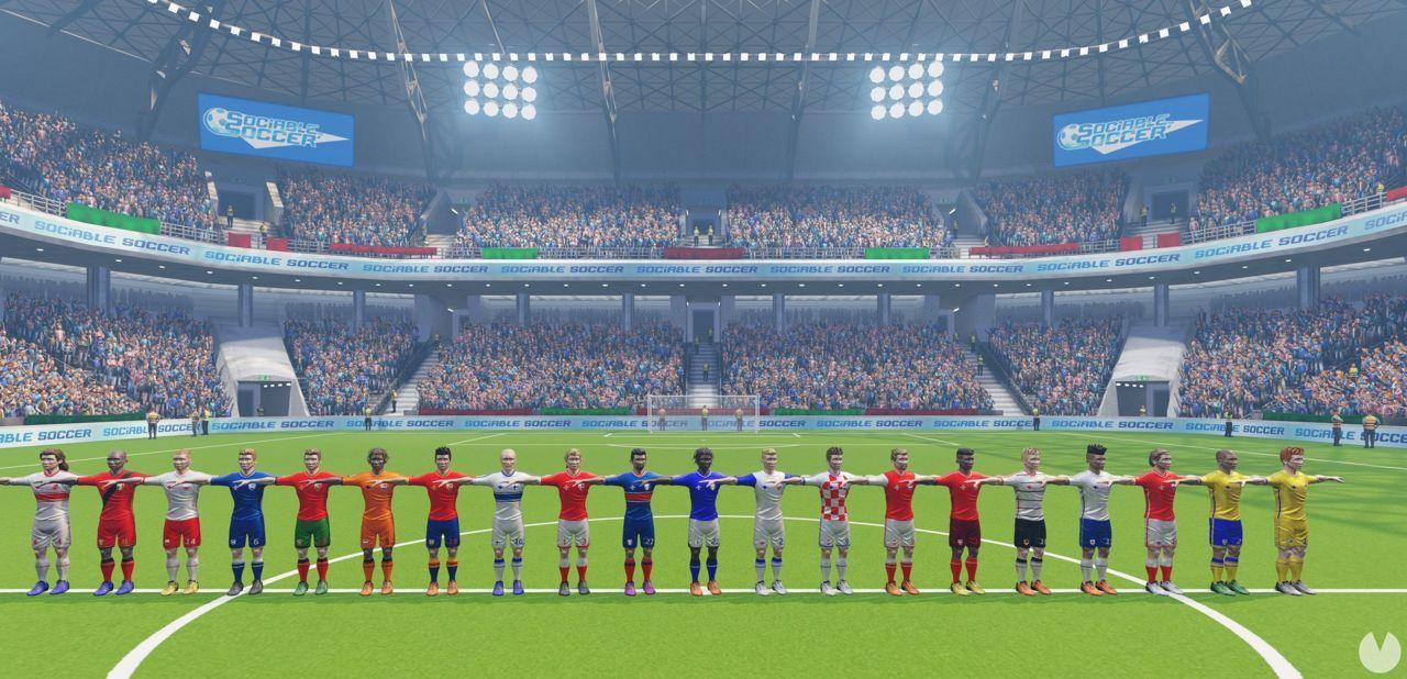 Sociable Soccer para abril de 2022 en consolas y PC