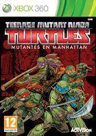 Carátula Teenage Mutant Ninja Turtles: Mutants in Manhattan para Xbox 360