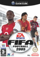 Car�tula oficial de de FIFA Football 2005 para GameCube
