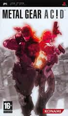 Metal Gear Acid para PSP