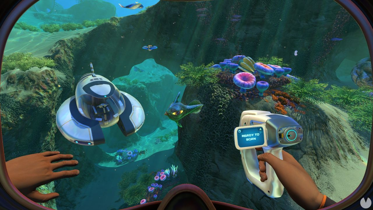 Subnautica for free in the Epic Games Store for a limited time