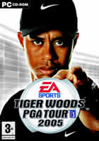 Car�tula oficial de de Tiger Woods PGA Tour 2005 para PC