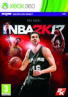 Carátula NBA 2K17 para Xbox 360