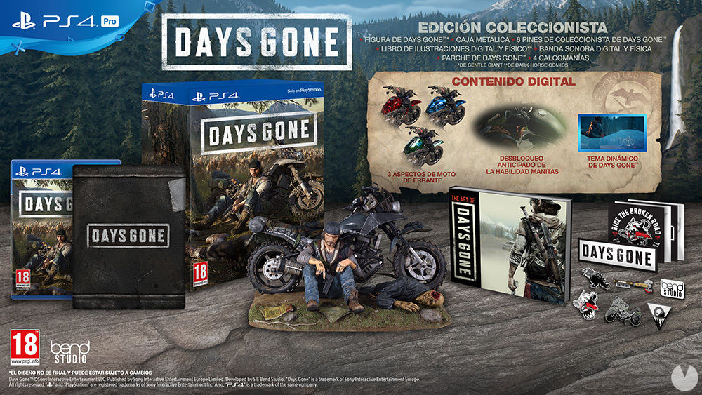 Days Gone presents its various editions, and a new video about their world