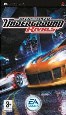Need For Speed Underground Rivals Videojuego Psp Vandal
