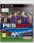 Carátula Pro Evolution Soccer 2017 para PlayStation 3