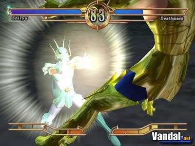 Análisis Los Caballeros del Zodiaco: El Santuario - PS2