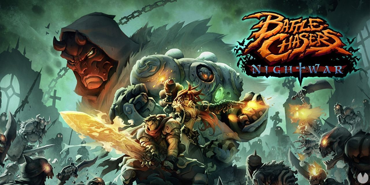 Battle Chasers: Nightwar en Switch anunciará su fecha muy pronto