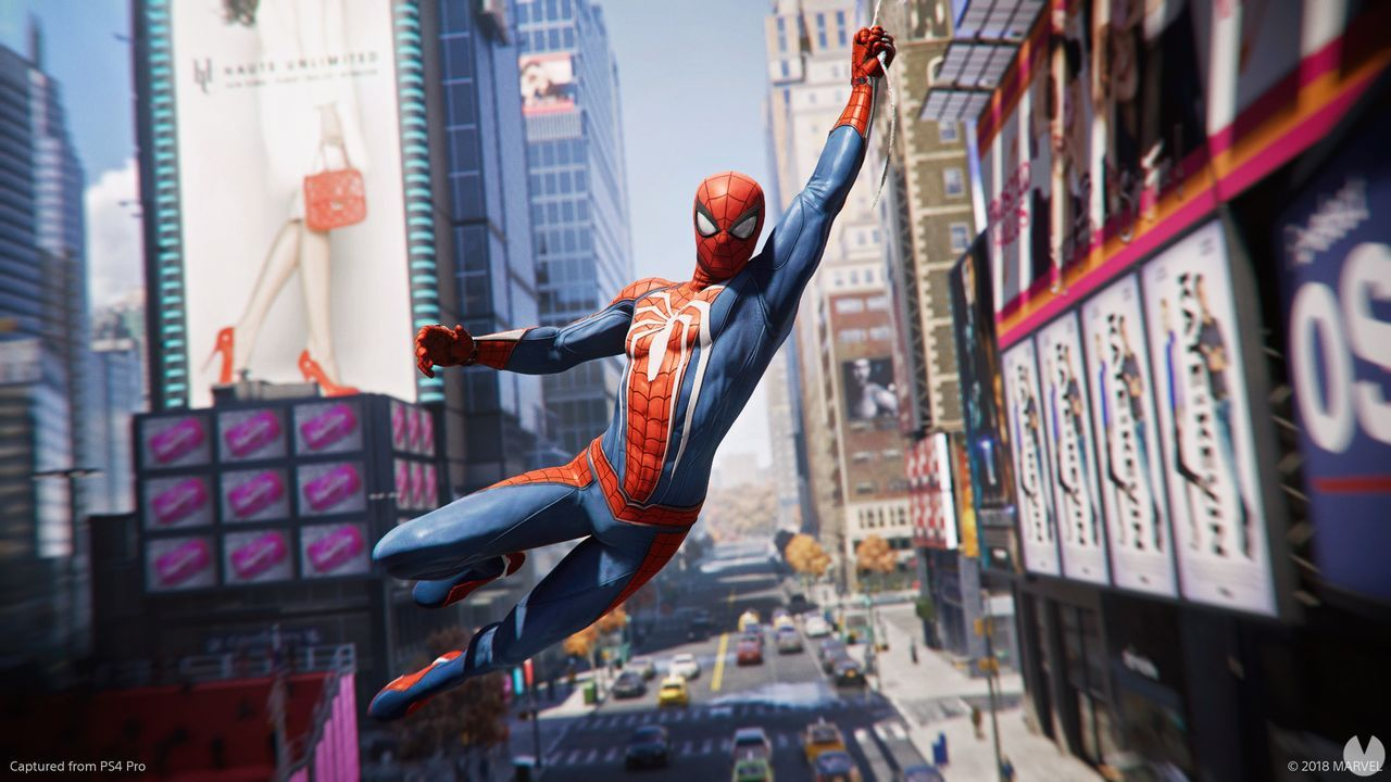 Spider-Man PS4 is the game of superheroes sold in the united States