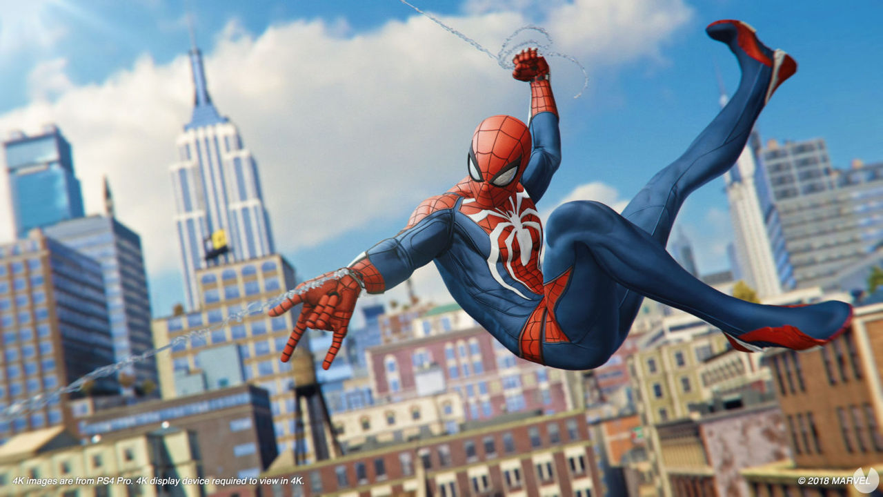 Spider-Man leads a week more sales of games in the Uk