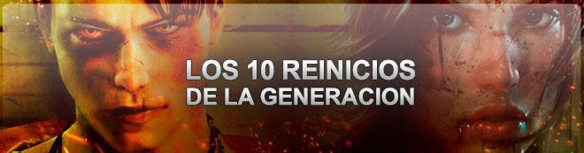 Los 10 reinicios de la generación