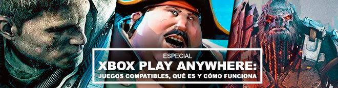 Xbox Play Anywhere: Juegos compatibles, qué es y cómo funciona
