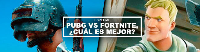 PUBG vs Fortnite, ¿cuál es mejor?