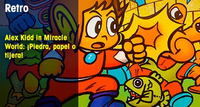 Alex Kidd in Miracle World: ¡Piedra, papel o tijera!