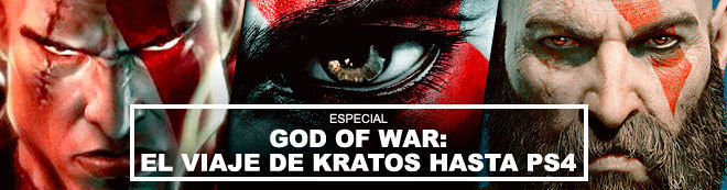God of War: El viaje de Kratos hasta PS4