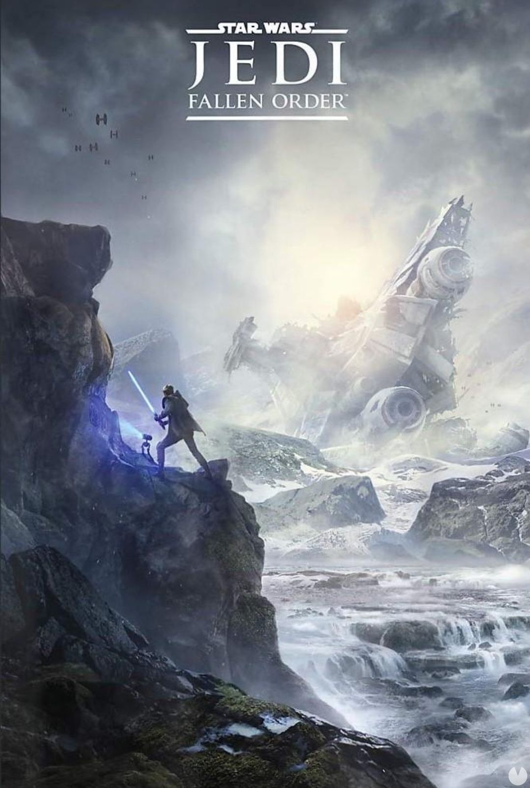filters on the poster of Star Wars Jedi: Fallen Order