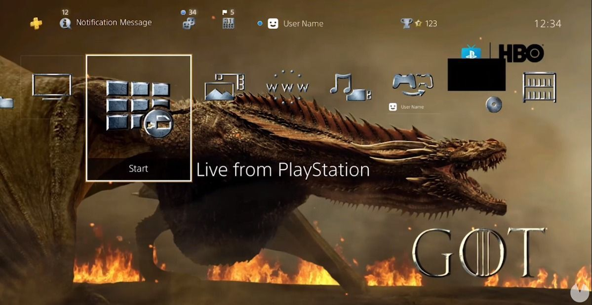 Sony celebrates the premiere of Game of thrones with a theme free for PS4