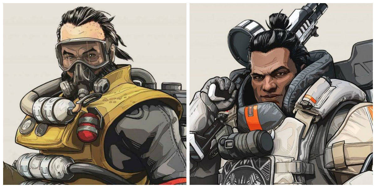 Apex Legends: Caustic and Gibraltar are now receiving less damage