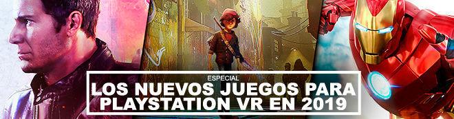 Los nuevos juegos para PlayStation VR en 2019